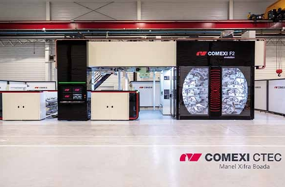Comexi has begun the last construction phase of its renewed technology centers (CTec) in Girona and Miami