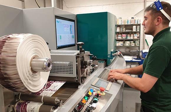 Clover Chemicals has invested in a Dantex PicoColour UV inkjet digital label press