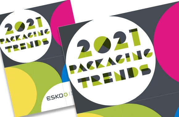 Esko has released a free, downloadable e-book, 2021 Packaging Trends