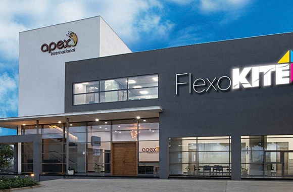 Apex International will host a virtual launch of its FlexoKite knowledge center in Nashik, India featuring guest speakers from leading flexo industry brands on October 5, 2021
