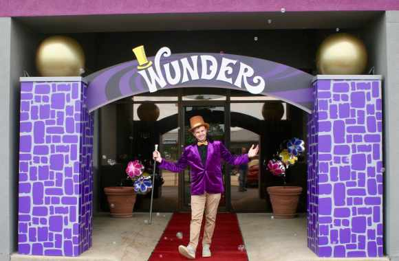 Color Ink hosted a Willy Wonka themed open house