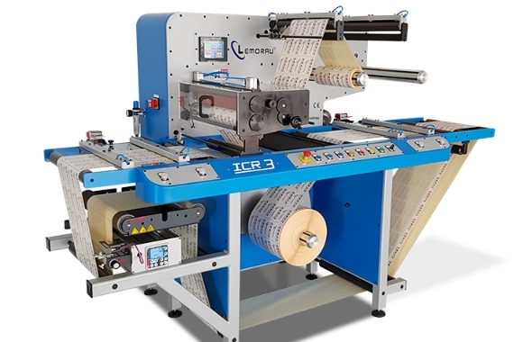 The Lemorau ICR 3 inspection, slitter and rewinder machine