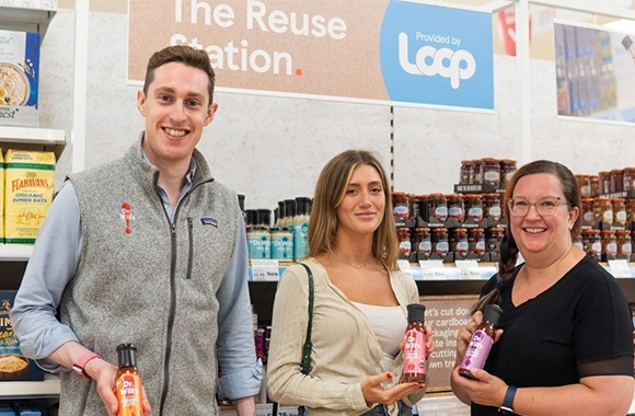 Dr. Will's collaborates with Springfield Solutions and Loop to trial a sustainable packaging option in participating Tesco stores.