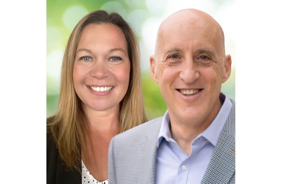 Heather Ecke (L), account manager for Flexible Packaging and Gianluigi Rankin (R), global marketing manager for Digital Printing at Michelman