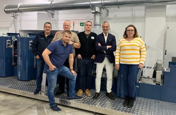 Slovakian converter Purgina installs Wanjie press
