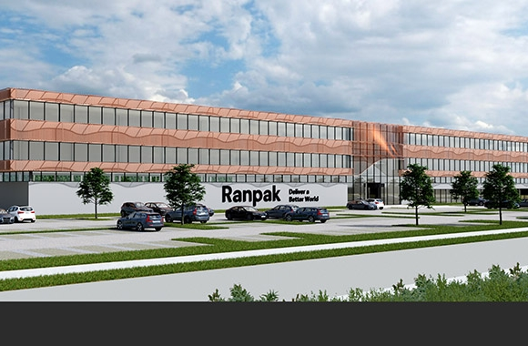 Ranpak Holdings has partnered with a real estate developer Boelens de Gruyter to design and build a new, highly sustainable facility in Kerkrade, Limburg, The Netherlands