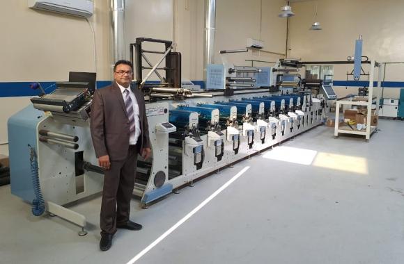 New UAE label converter Paramount installs Lombardi Flexoline 430