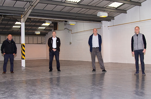 Springfield Solution's directors in the new 4,000 sqft unit space