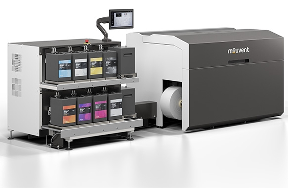 Bobst has updated the design of its Mouvent LB701-UV digital label press to improve convenience and usability