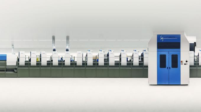 Since 2012, Amcor has successfully run the world's longest medium format press in a Rapida 106 with 19 printing and finishing units