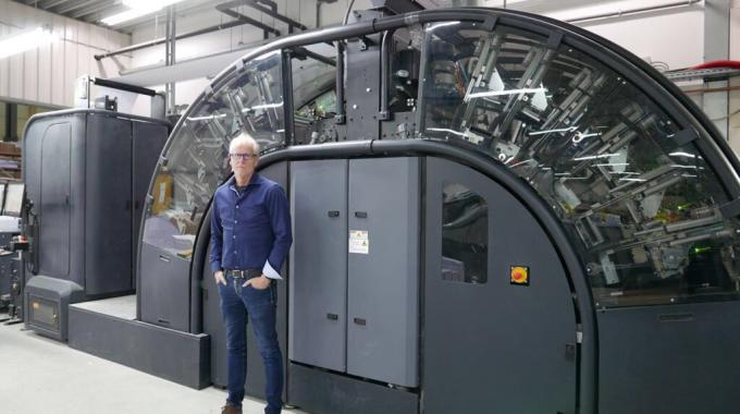 In addition to the new HP Indigo 30000 press, Ovimex has HP PageWide T240 inkjet web press