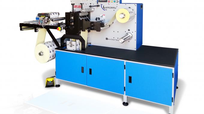 EBR+ is a finishing machine that runs rotary and semi-rotary at speeds of 120m/min (rotary) and 40m/min (semi-rotary)