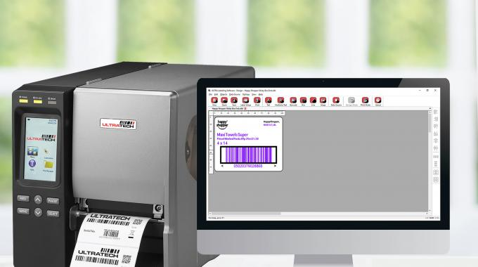 Ultralabel is compatible with Ultratech printers, and others from a range of suppliers
