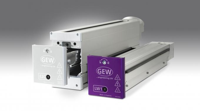 GEW is introducing the ArcLED hybrid UV curing system at Labelexpo Europe 2015