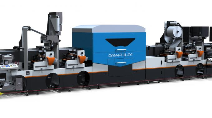 A Graphium hybrid digital inkjet label press featuring a new configuration will be exhibited on the Edale stand at Labelexpo Europe 2015