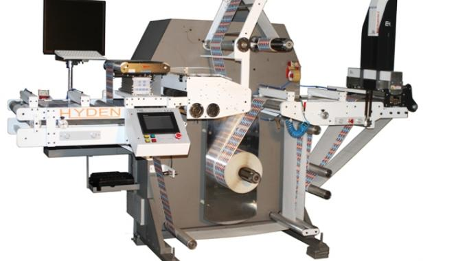 Hyden Packaging will introduce its U 350 HS narrow web slitter rewinder to the international market at Labelexpo Europe 2015