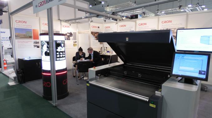CRON-Europe stand at Labelexpo Europe 2015