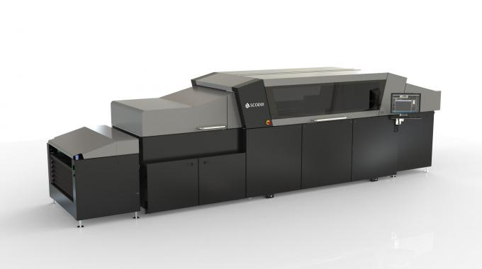 Scodix expanded its line of presses with the introduction of the Ultra Pro, an extension of its existing Ultra model with the addition of numerous new features