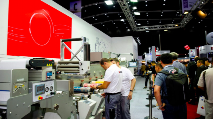 The Bobst stand