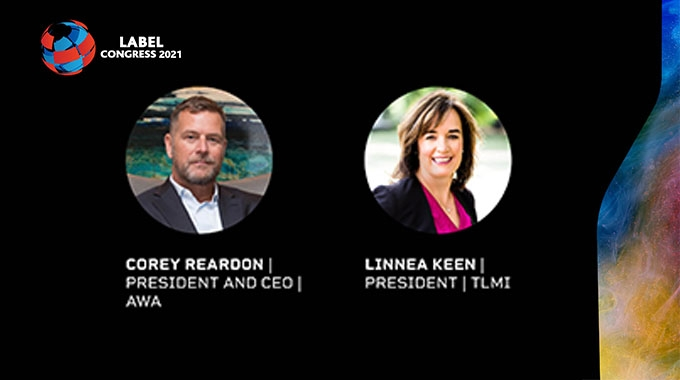 TLMI president Linnea Keen and AWA president and CEO Corey Reardon explain why they are presenting at the upcoming Label Congress 2021