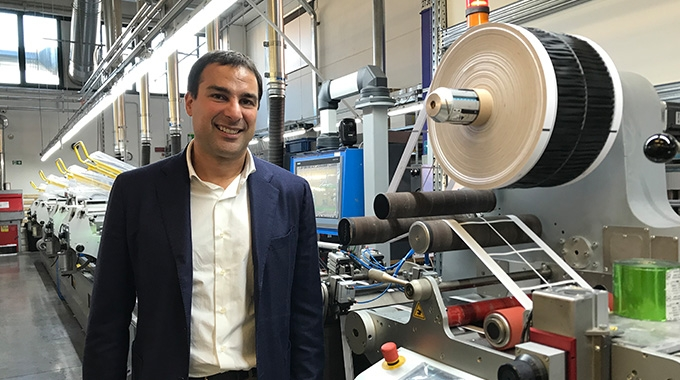 Labelit president Marcello Busetto has steered the company towards high quality work for the food and beverage sectors