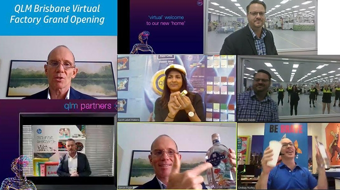 QLM Label Makers hosted a virtual event for its new factory opening in Australia