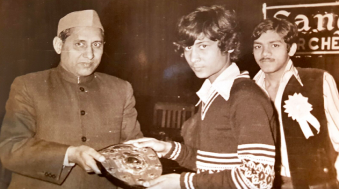 Kuldip Goel won several awards for his stage performance in his youth