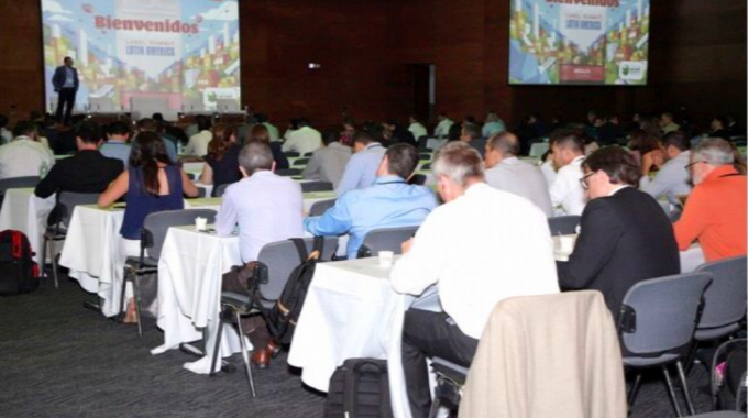 The conference sessions were well-attended at Label Summit Latin America 2019