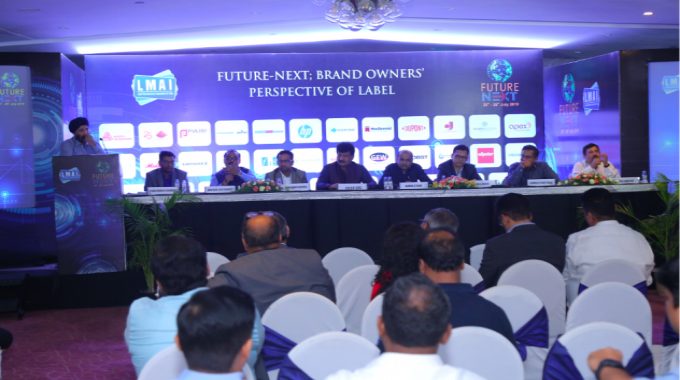 Brand owner panel discussion at the LMAI event in New Delhi