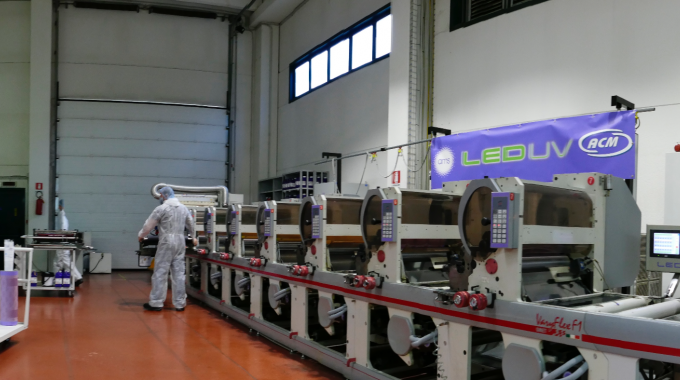 ACM Plastics has moved to 100 percent UV LED curing for its narrow and mid-web flexible packaging operation.