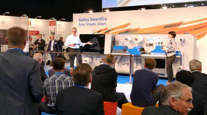 In a sharp change in direction, Gallus has launched an entry-level single pass digital press based on Memjet technology