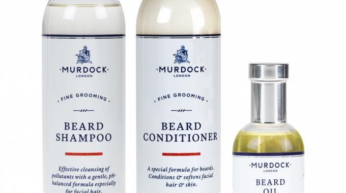 Barber and male grooming specialist Murdock London has selected products from Royston Labels for its new range of male grooming products