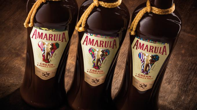 Amarula creates unique liqueur labels using HP technology