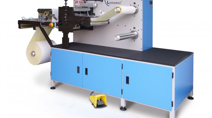 emorau EB 330 is designed for high volume production of blank labels