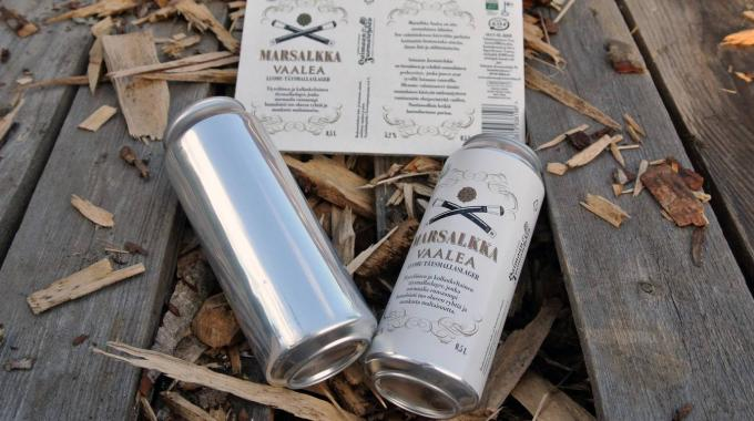 The Saimaan Juomatehdas brewery in Finland is the first company in Europe to adopt Vanish by launching a craft beer in labeled aluminum cans