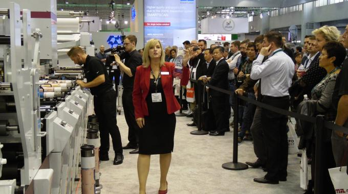 Labelexpo Europe 2017 features more working machinery from a record number of exhibitors occupying more floor space than ever before