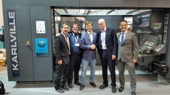 Swiss Pack of Canada first to install HP Indigo Pack Ready