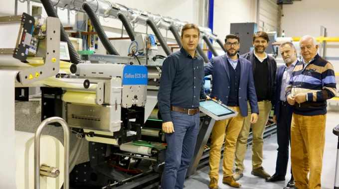 Arvanitis opts for Gallus ECS 340 UV flexo press