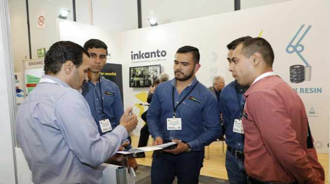 Armor introduced its inkanto brand to the market in the region at Label Summit Latin America 2018