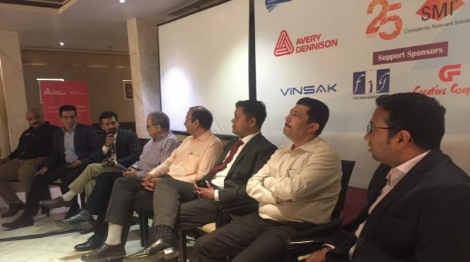 Panel discussion with brand owners and some suppliers at the LMAI event in Delhi