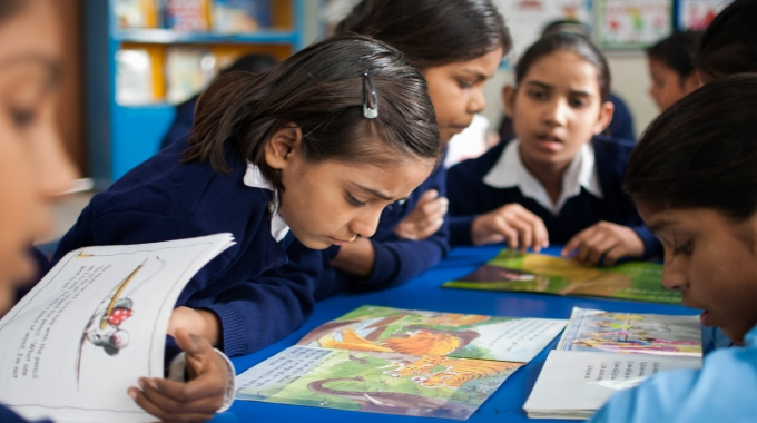 Company uses sustainable technology to provide books and school supplies under its Global Literacy Program