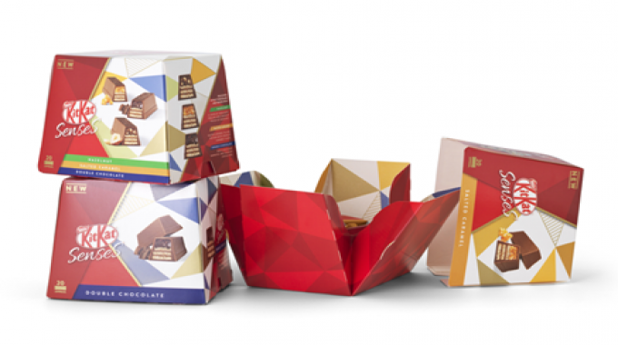 Ar Packaging Partners With Nestle For New Kitkat Senses Packaging Labels Labeling
