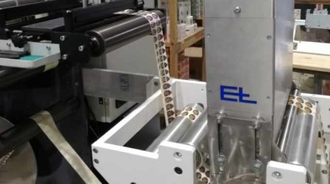 Exco Print has purchased a Rotocon Ecoline RCSI 330 slitter rewinder