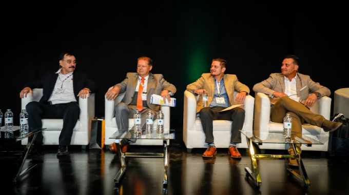 The two-day conference program included a number of panel discussions