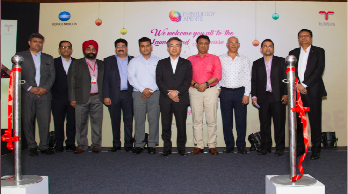 Senior leadership team from Konica Minolta including Daisuke Mori, managing director; Manish Gupta, national marketing manager and Ashok Sethi, general manager, Sales-PPDC/IDC, Konica Minolta along with Amritpal Singh Bawa, national manager of Technova Imaging Systems attended the event.