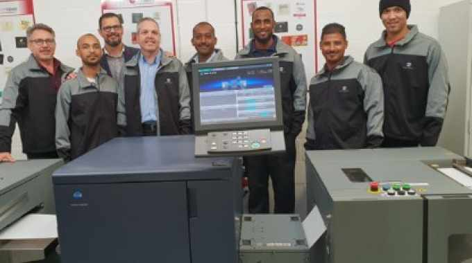 South African label printer goes digital with Konica Minolta