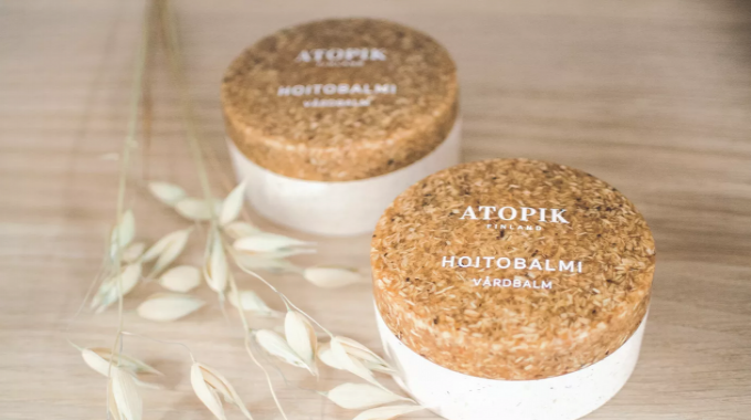 Finnish cosmetics company Naviter has chosen Sulapac for the packaging for its new Atopik range of natural cosmetic products