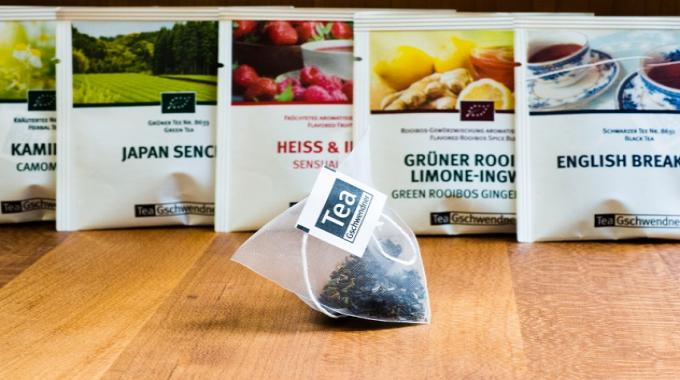 TeeGschwendner, a specialist tea retailer, has opted to use Sappi Guard barrier paper for its newly-developed MasterBag Pyramid tea bag
