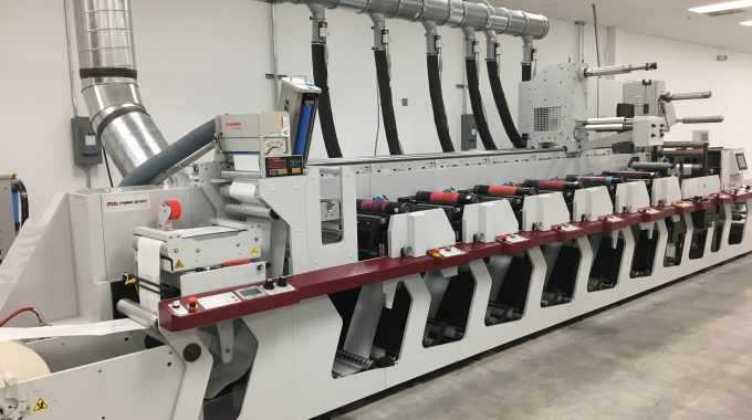 Actega North America has installed a 13in Mark Andy Performance Series P5 flexo press