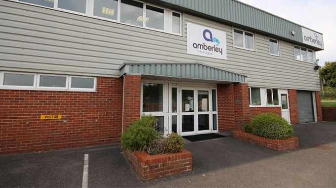 Amberley Adhesive Labels headquarters in the UK
